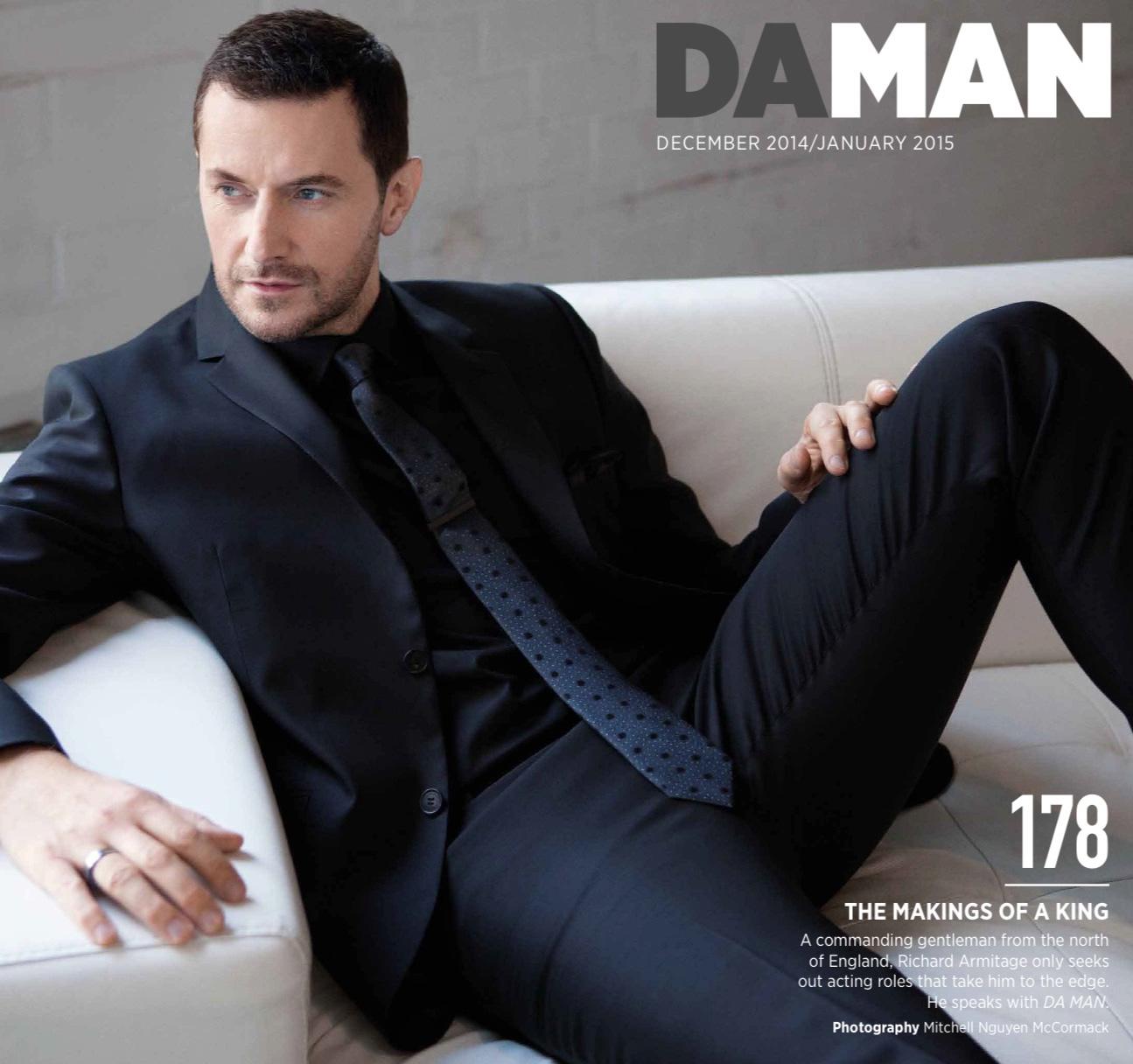 DA MAN Magazineのリチャード・...